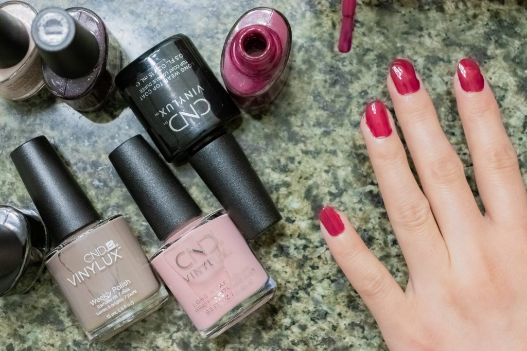 CND VINYLUX Long Wear Nail Polish Review