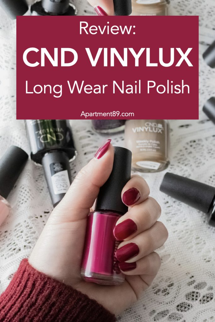 CND Vinylux Long Wearl Neail Polish System Review